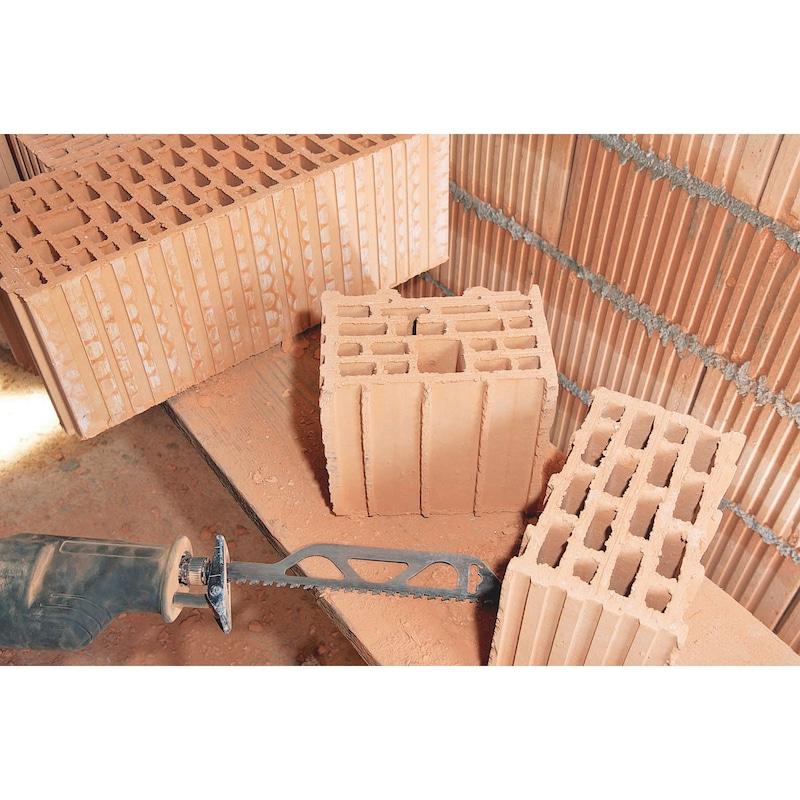 Lame de scie sabre 3S brique/béton cellulaire - 3