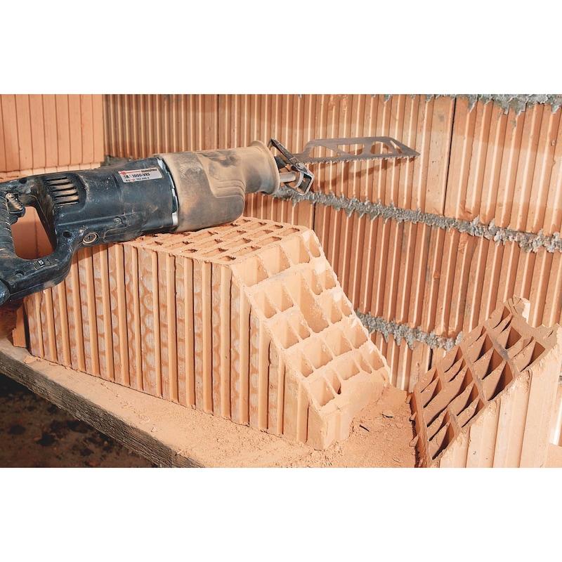 Lame de scie sabre 3S brique/béton cellulaire - 5