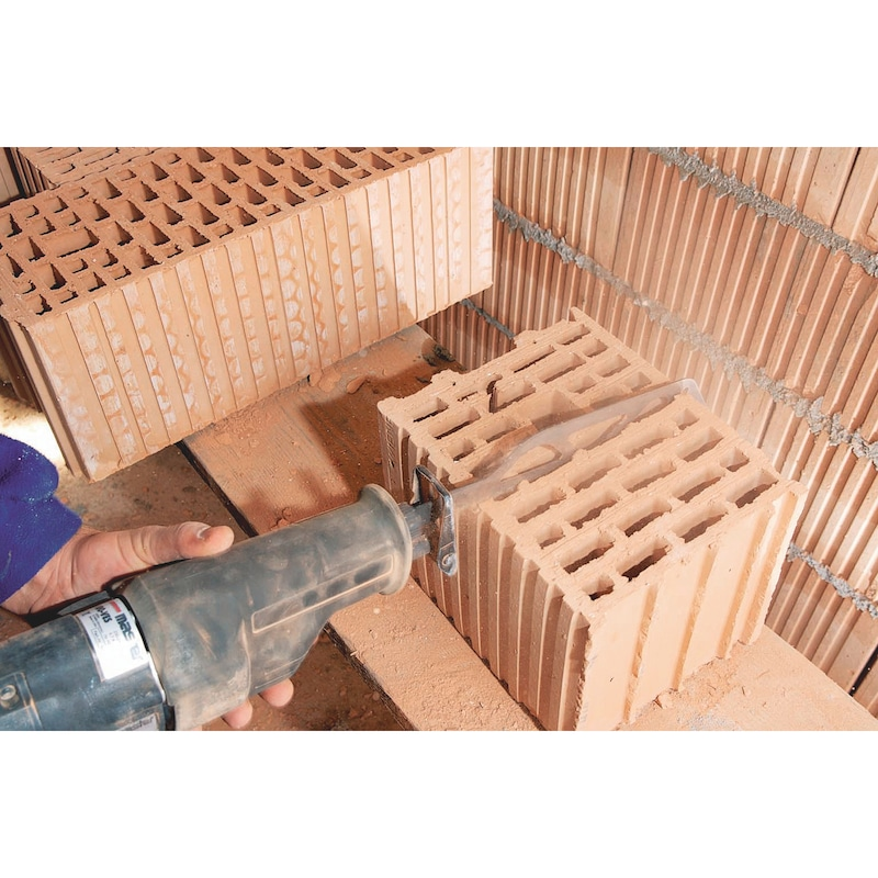 Lame de scie sabre 3S brique/béton cellulaire - 2