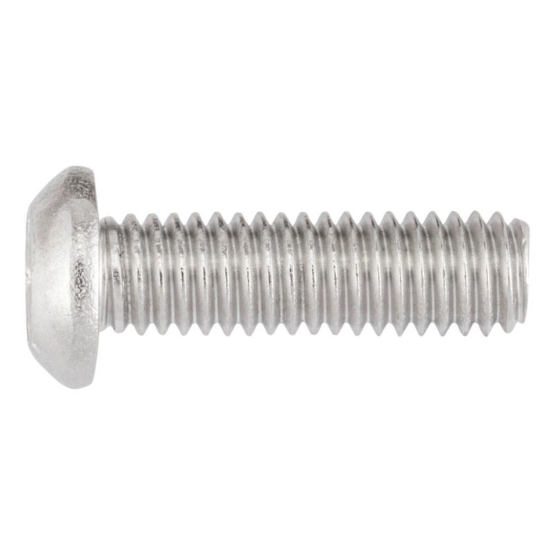 Yassı mercimek başlı imbus cıvata - BB.İMB.CIV.ISO7380/1-A2/070-S4-M6X25