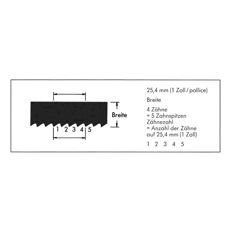 Maschinensägeblatt - SAEBLA-MA-HSS-Z10-400X25X1,25