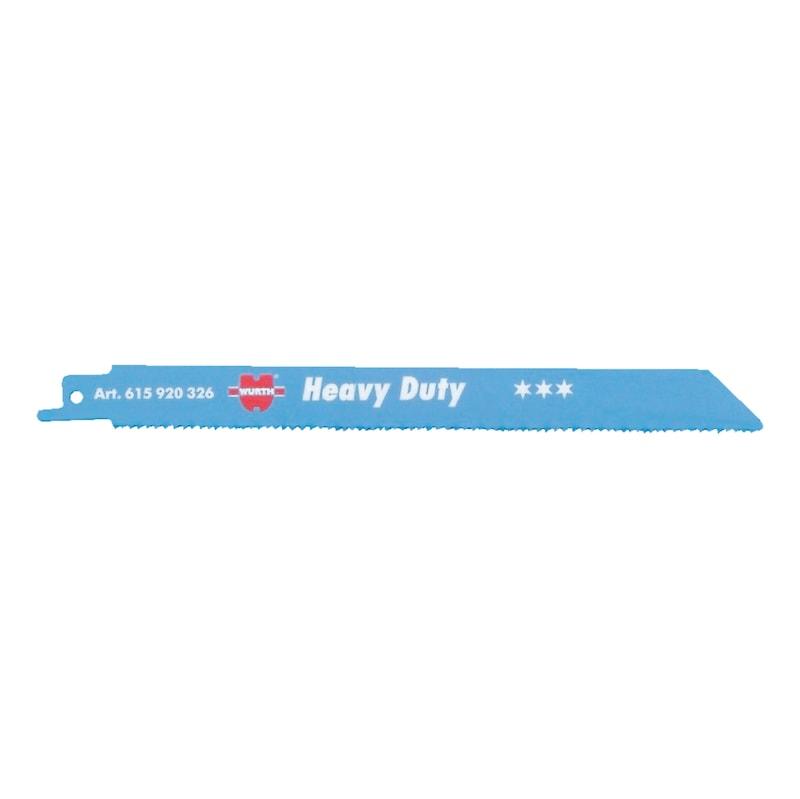 Säbelsägeblatt Metall - SSB-MET-5STK-(HEAVY DUTY)-200X1,8
