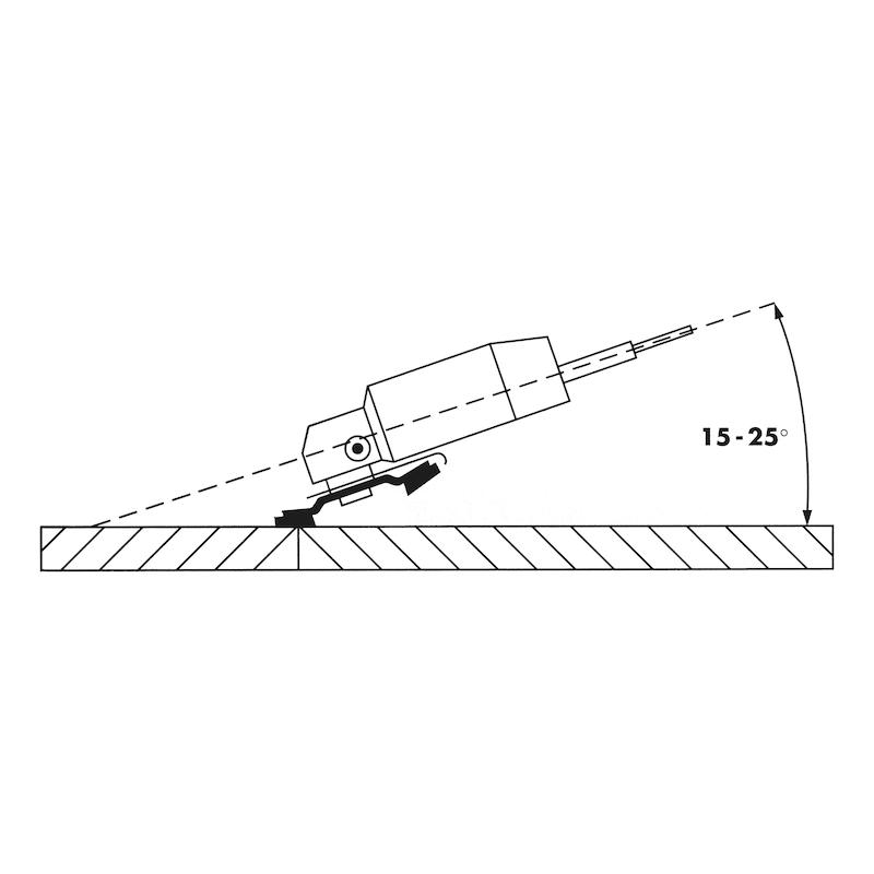 Disco segmentado zircónio-alumina Top Line Top Line - DISCO LAMELAS ZEBRA PLANOS D.125MM GR60