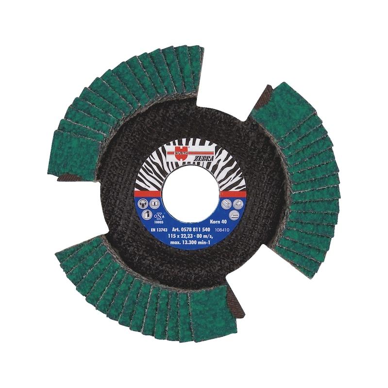 Disco de lixa transparente - DISCO LAMELAS SECCIONADO D.125MM G.40