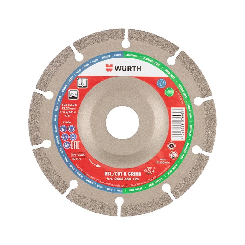 Diamantscheibe Cut & Grind BSL Metall  - 1
