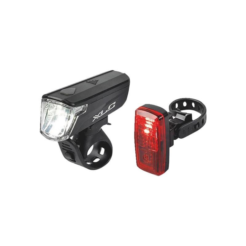 Polkupyörän valosarja LED 1W-0,2W 5XAAA