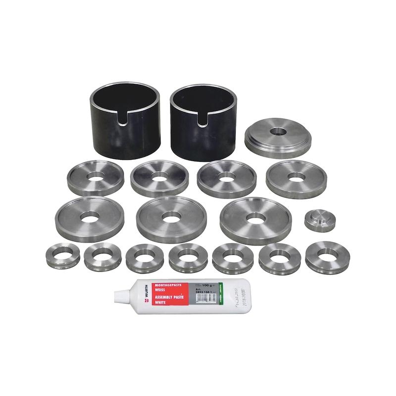 Wheel bearing tool set basic XXL 18 pcs - 4