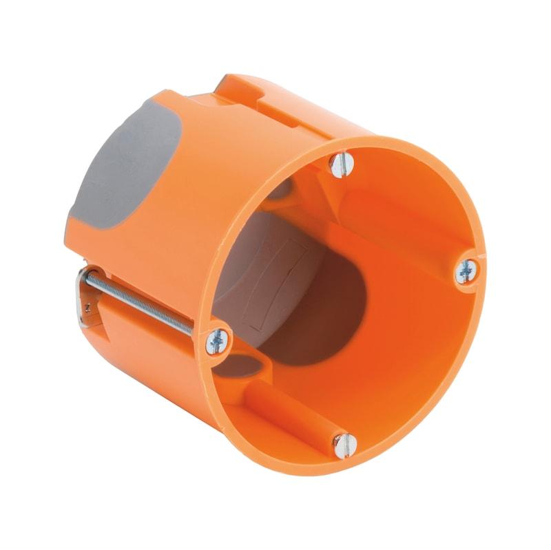 Hohlwand-Geräteverbindungsdose winddicht - GERVERBDO-HWAND-VDE-H61MM/D68MM-WINDDI