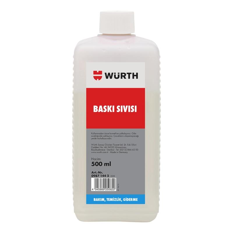 Welnox baskı sıvısı - WELNOX BASKI SIVISI 500ML