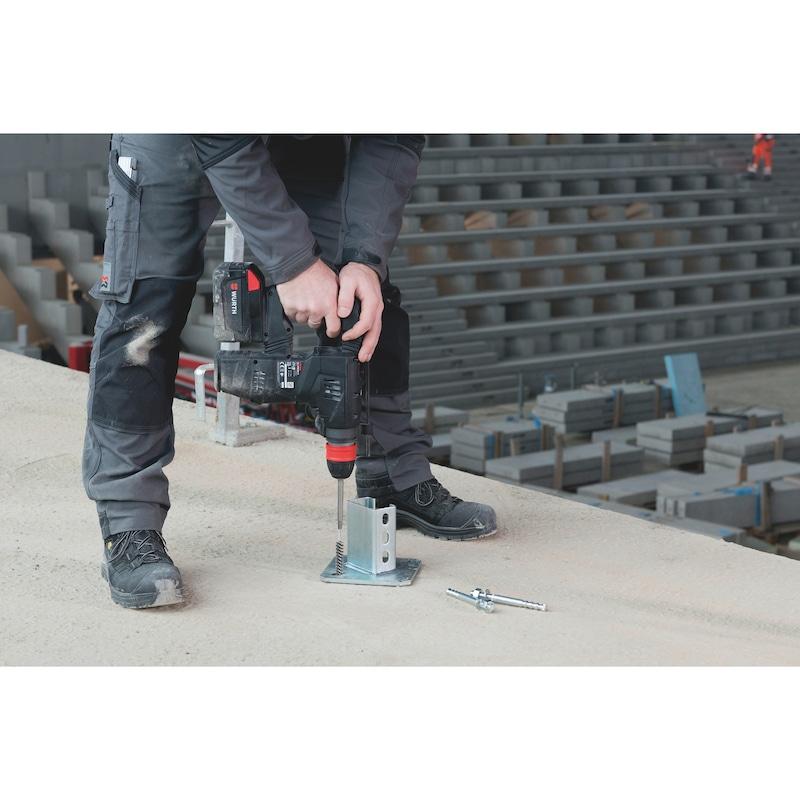 Reinigungsbürste für Mauerwerk mit Anschlussgewinde M6 - 2