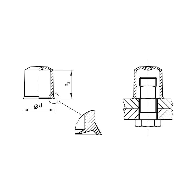 Klemmkappen GPN 1010 - 2