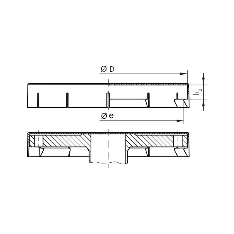 Flanschkappe GPN 680 - 2