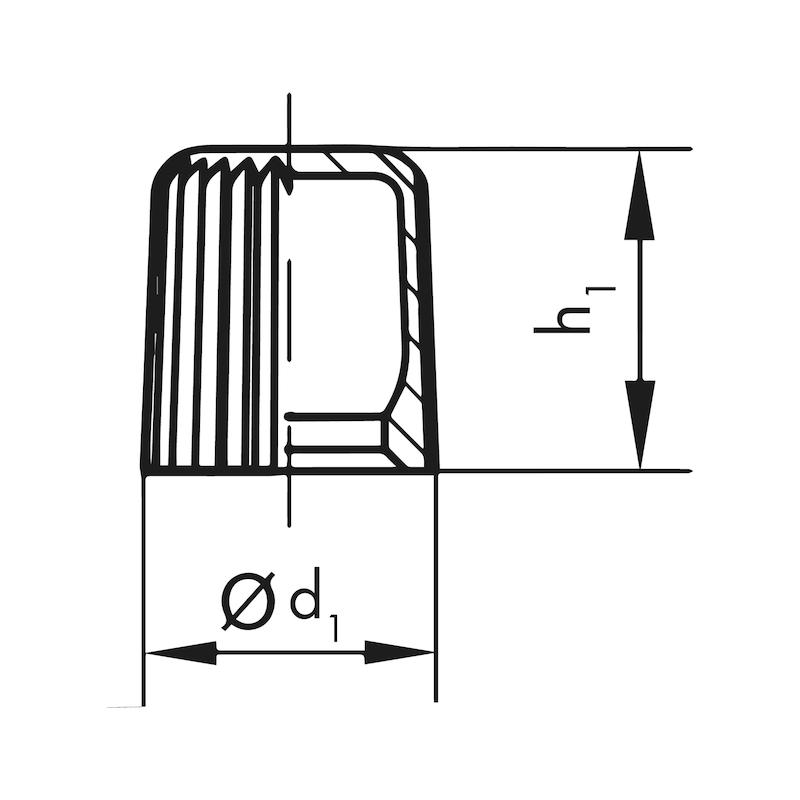 Schmiernippelkappen GPN 980 A - 2