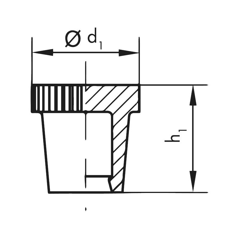 Schmiernippelkappen GPN  985 A - 2