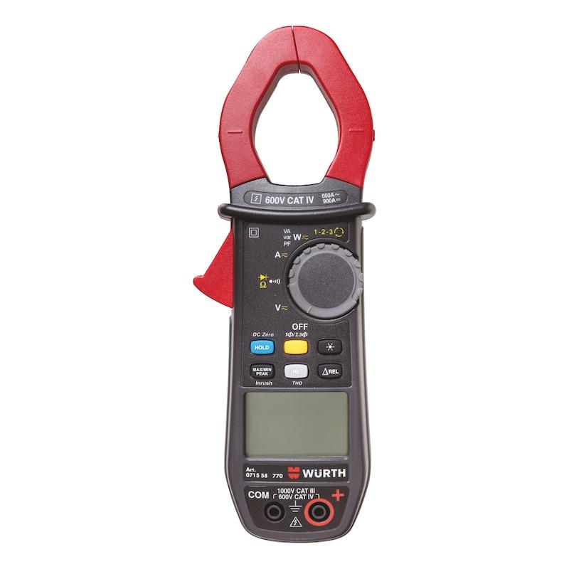 Pince ampèremétrique multifonction Professionnel - PINCE MULTIMETRE MULTIFONCTIONS  PRO