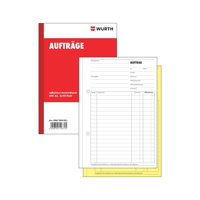 Auftragsformularbuch - 1