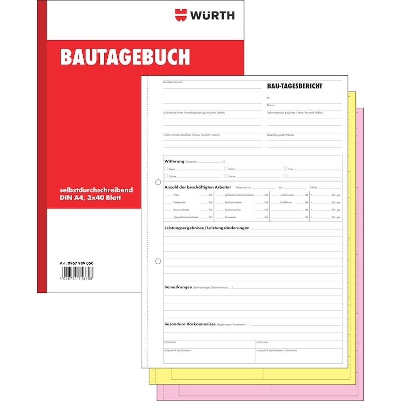 Bautagebuch - 1