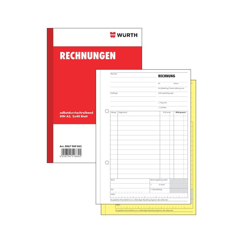 Rechnungsbuch - 1