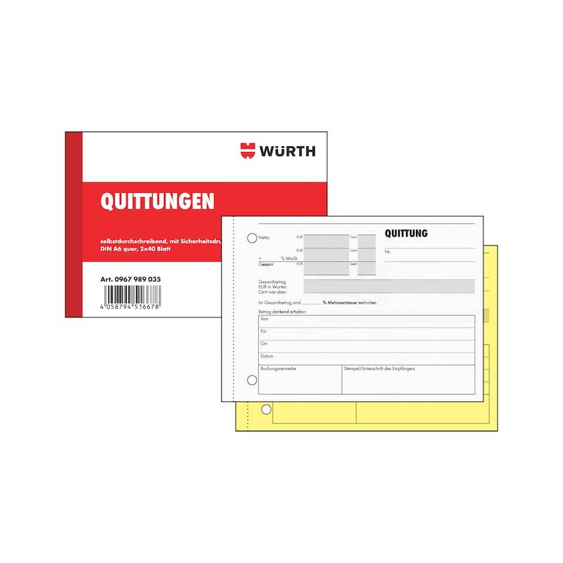 Quittungsformular - 1