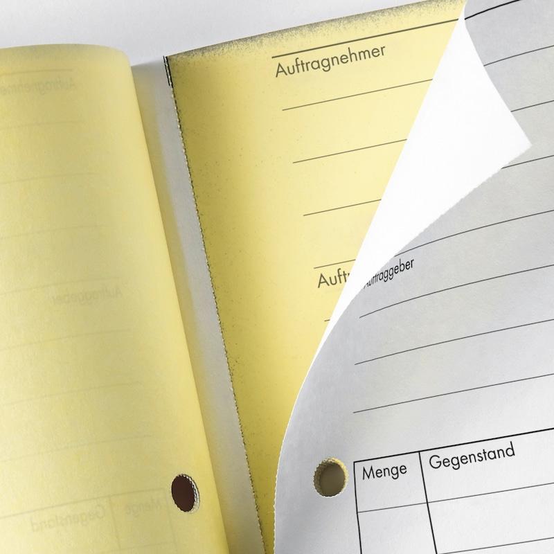 Lieferscheinbuch - FORMULAR-LIEFERSCHEINE