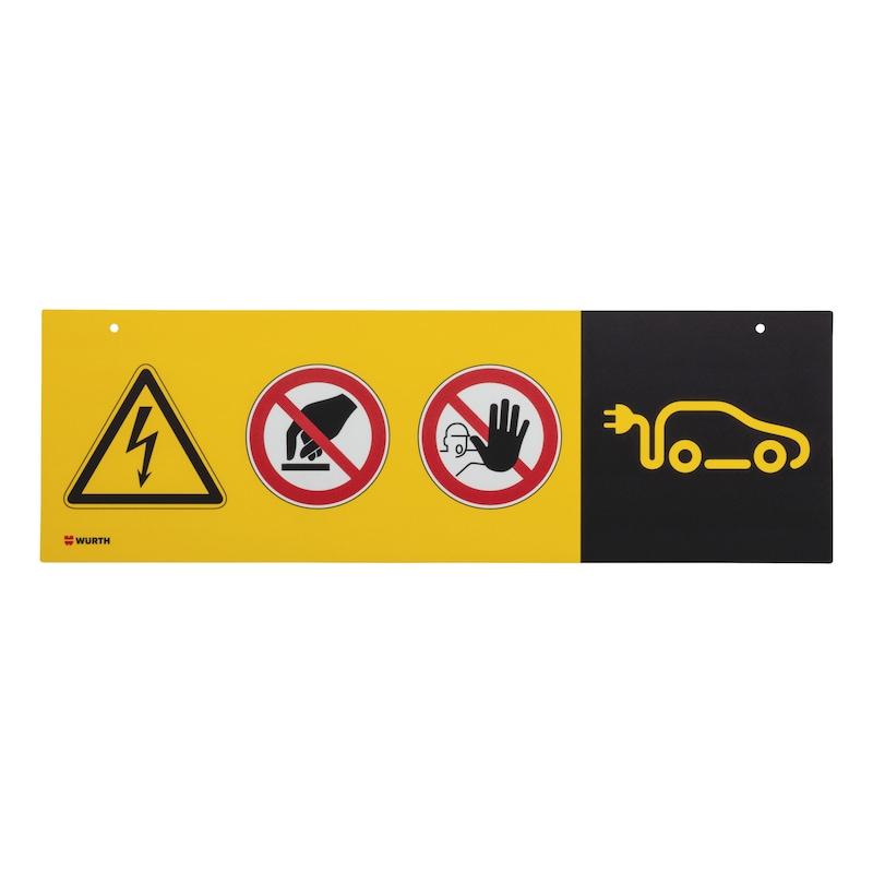 Hinweisschild E-Mobilität