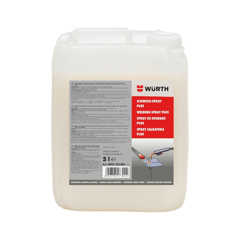 Welding spray Plus - WELDSPR-PLUS-CANISTER-5LTR