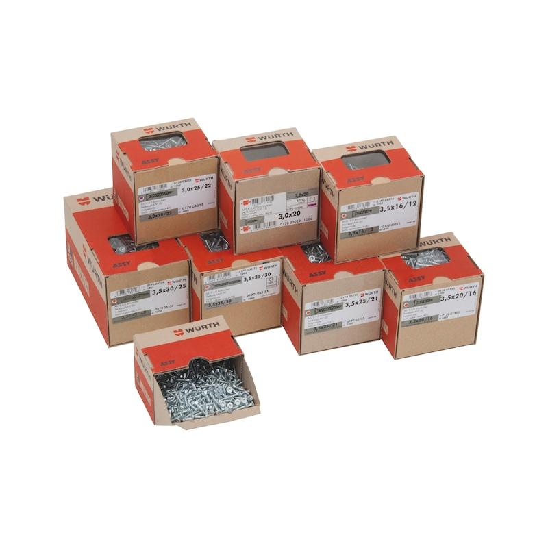 ASSY<SUP>® </SUP>3.0 Paket &empty; 3,0 + 3,5 mm