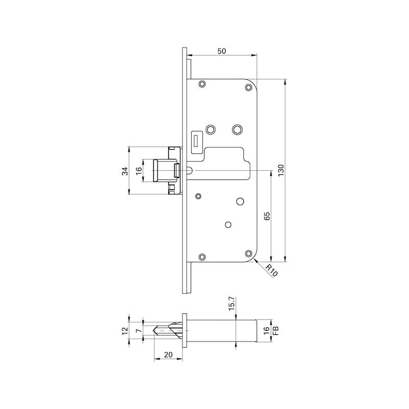 Elektronische Mehrfachverriegelung Eneo A - 5