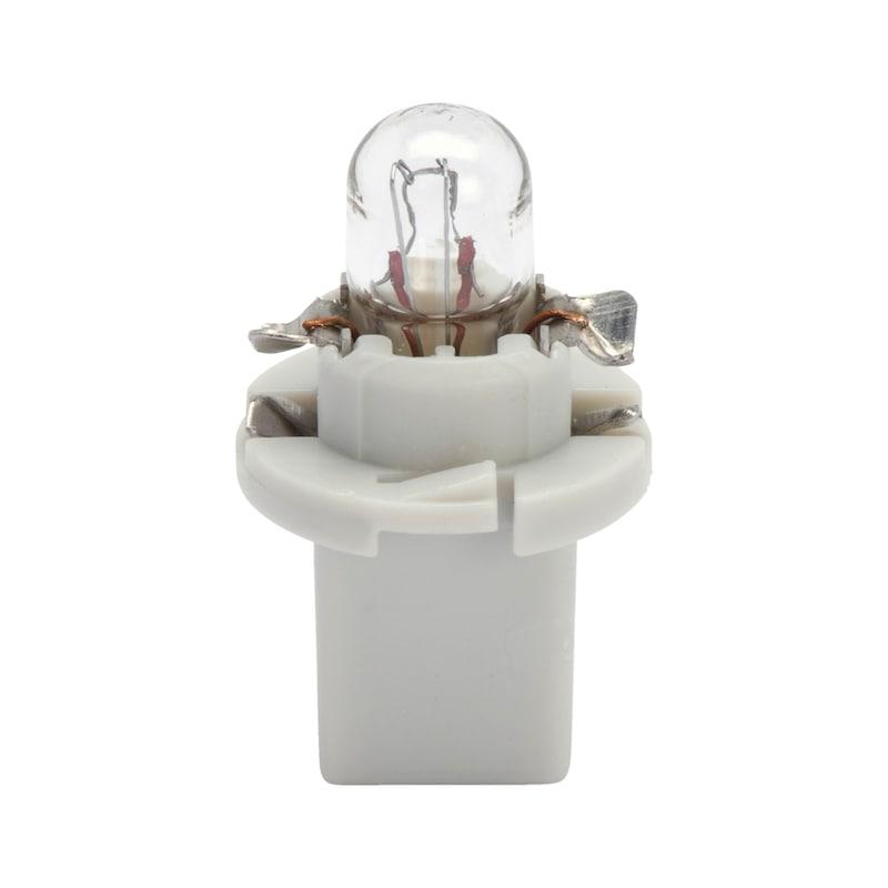 Kunststoffsockellampe - LAMP-GRAU-(EBS-N1)-24V-1,2W
