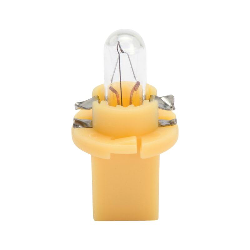 Kunststoffsockellampe - LAMP-GELB-(EBS-N7)-24V-1,82W