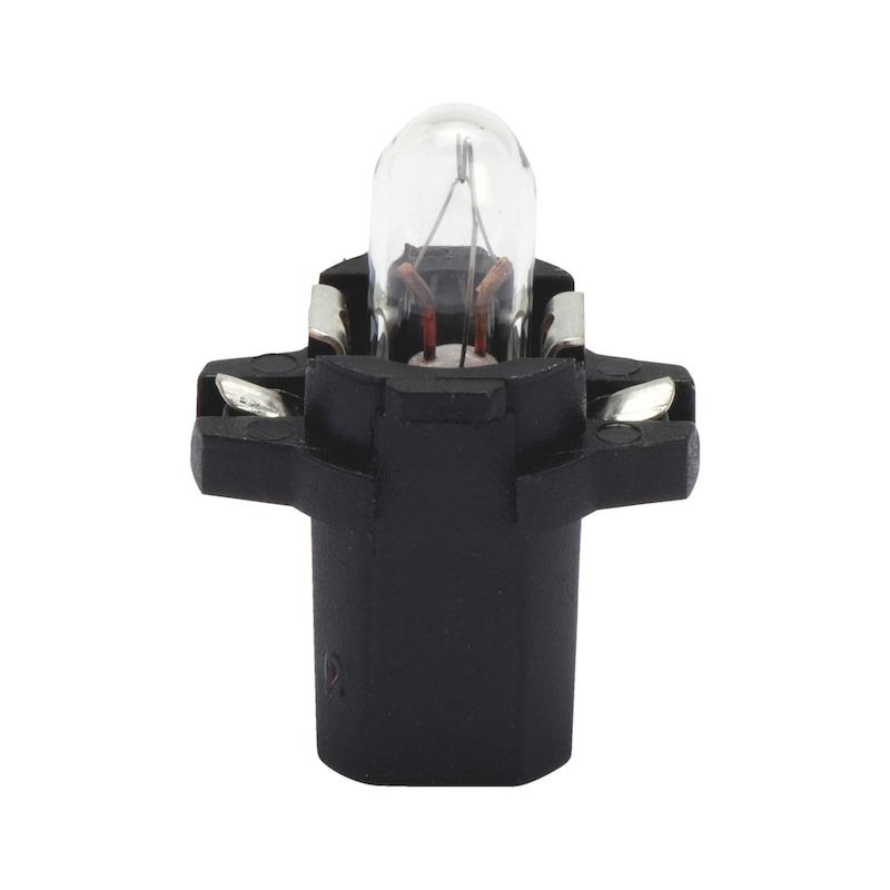 プラスチック製ソケット電球 - バルブ 12V 1.2W メーター B 8.3D