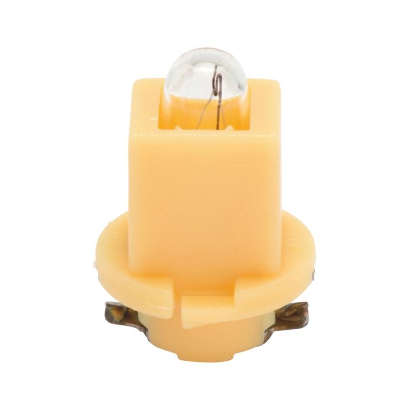 Kunststoffsockellampe - LAMP-GELB-(EBS-R4)-24V-1,2W