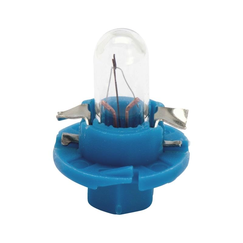 プラスチック製ソケット電球 - バルブ 12V 1.2W メーター BX8.4D-12.5