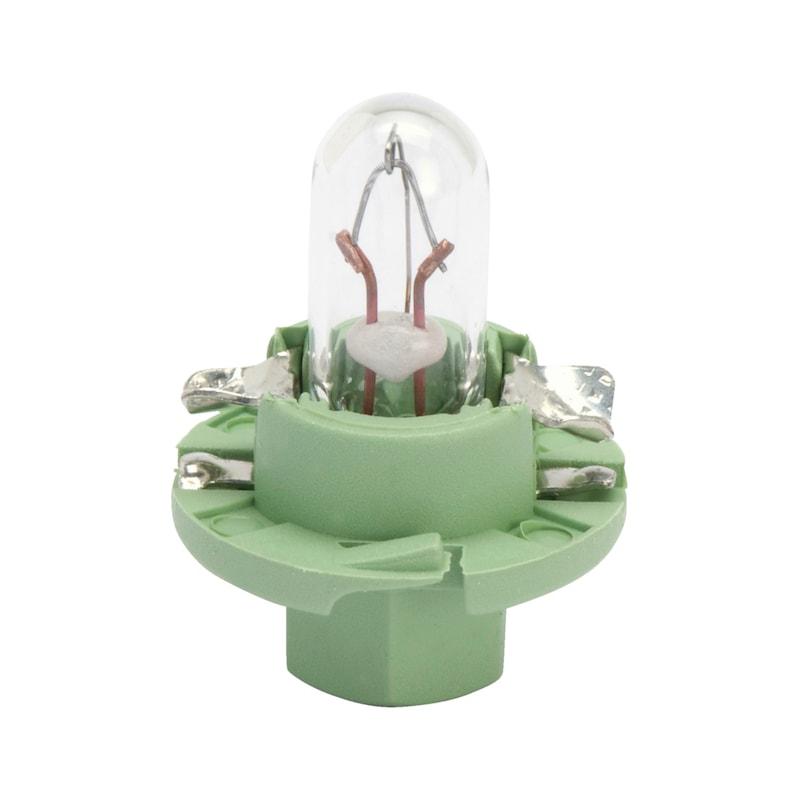 プラスチック製ソケット電球 - バルブ 12V 2.0W メーター BX8.4D