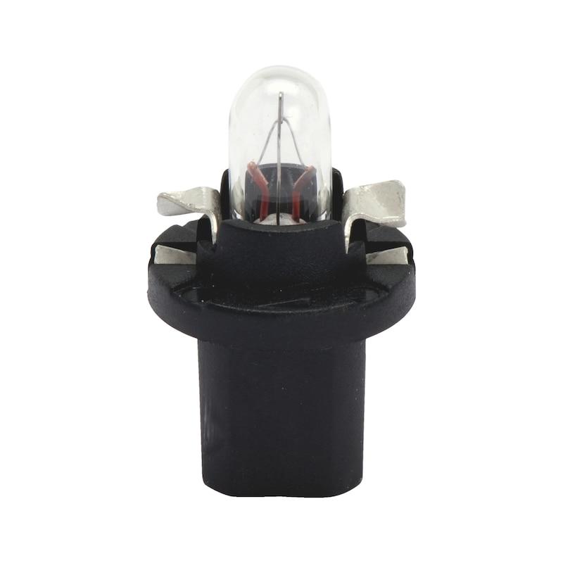 プラスチック製ソケット電球 - バルブ 12V 1.2W メーター B 8.5D