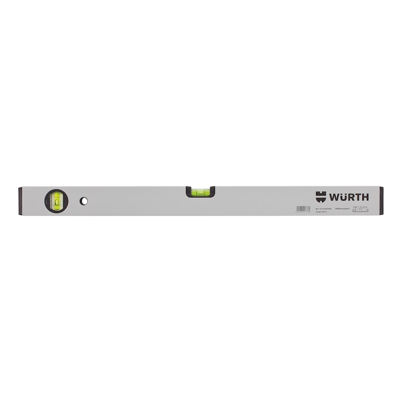 Light metal spirit level - 1