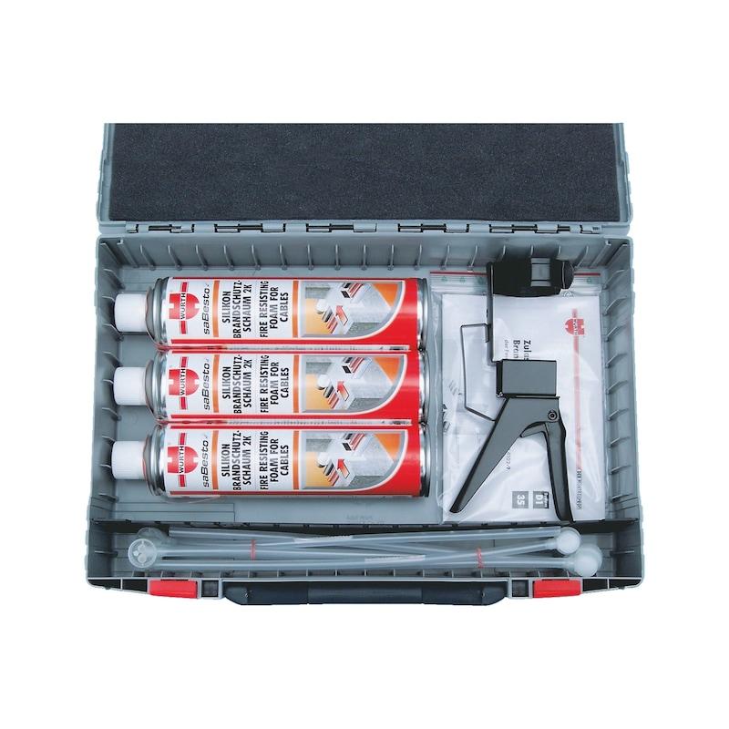 Sortimentskoffer Brandschutzschaum 90