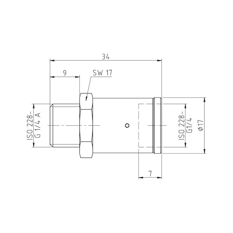 Valvola riduttrice di pressione - VALVOLA-RIDUZ-PRESSIONE-6BAR