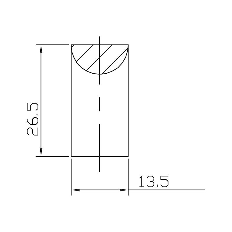 Design-Möbelgriff - 4