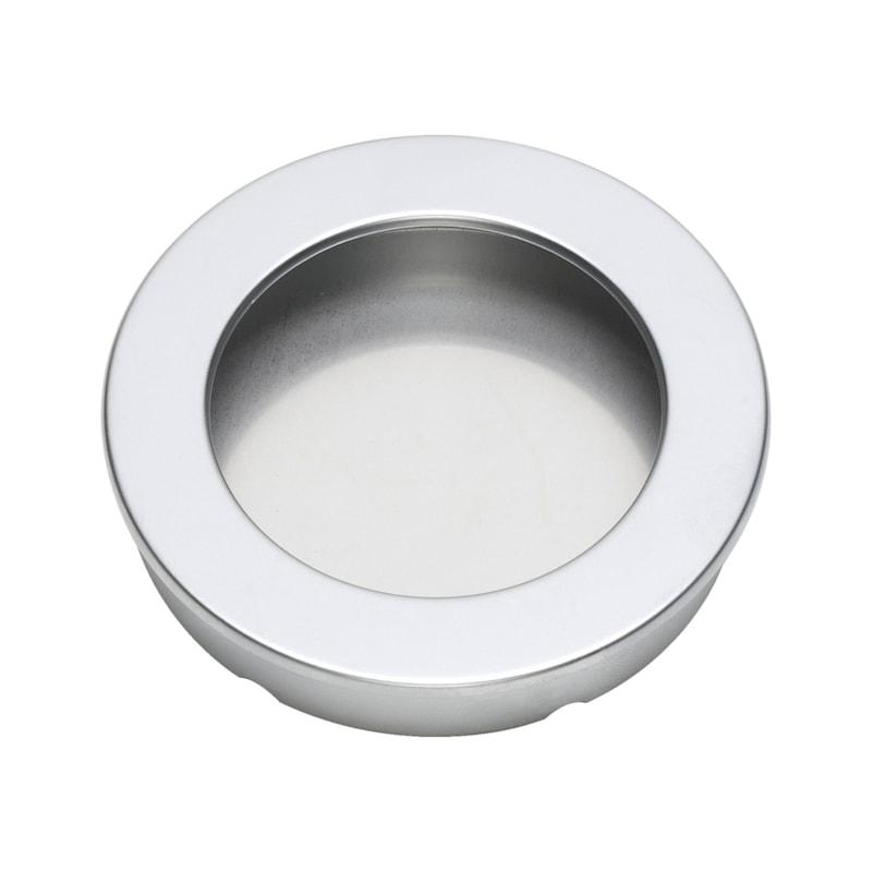 Poignée design coquille, ronde