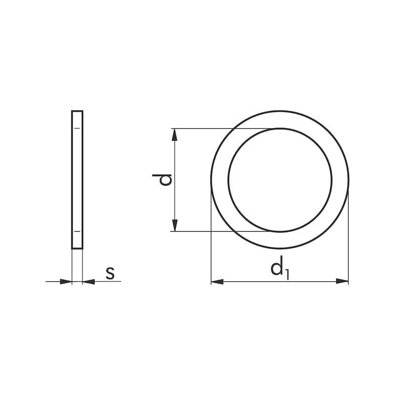Passscheibe - SHB-PASS-DIN988-50X70X0,2