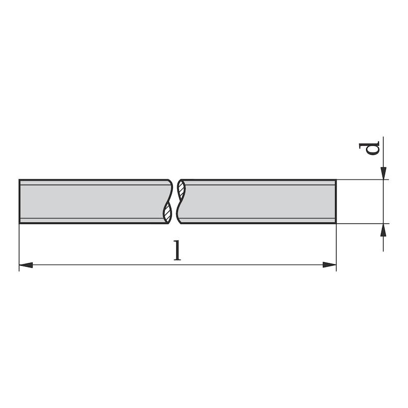 Gewindestück - GWDSTK-DIN976-B-A2/70-M6X90