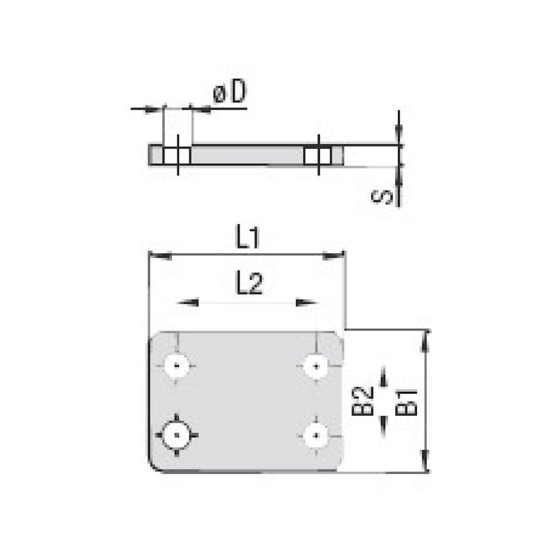 Deckplatte Premium Typ DPAS - 2