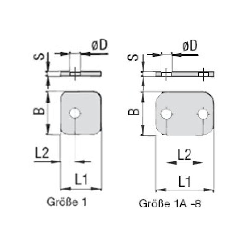 Deckplatte Premium Typ DP - 2