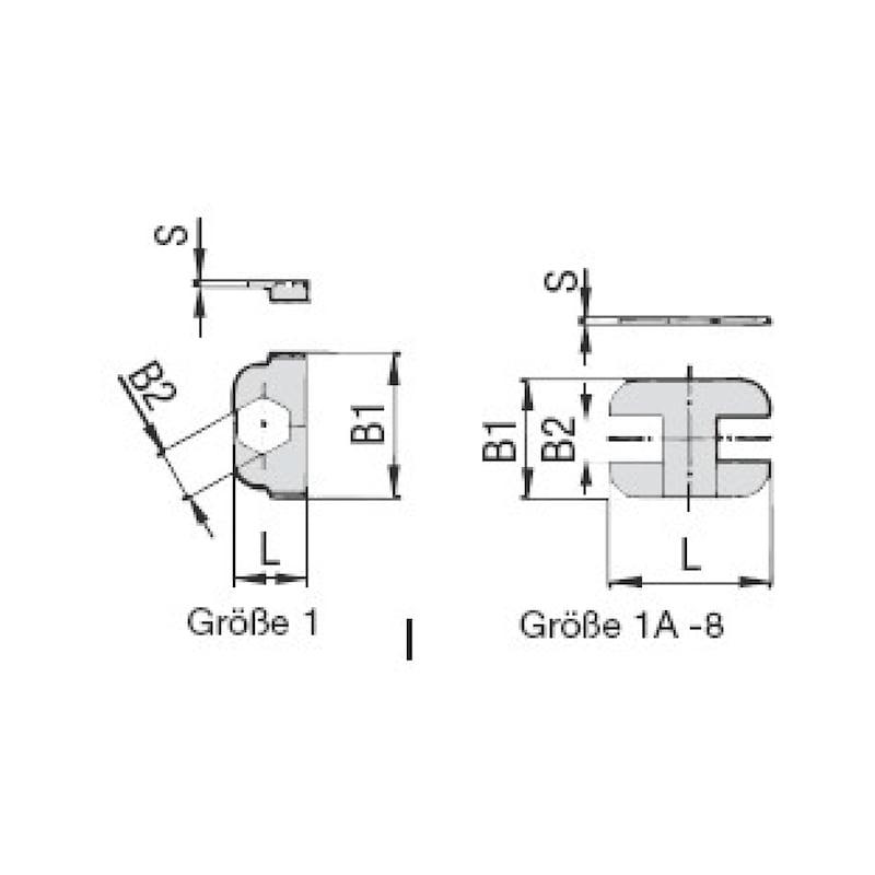 Sicherungsplatte Premium SIG - 2