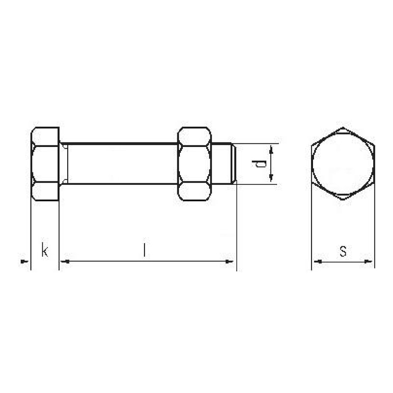 IOSHAPO Vis /À T/ête Hexagonale Haute R/ésistance M8 /À Boulon /À T/ête Hexagonale Nickel/ée De Qualit/é 12,9