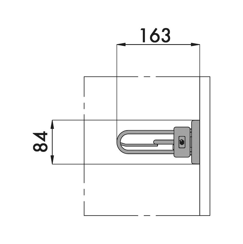 Krawatten- und Gürtelhalter-Auszug Varisia - 2