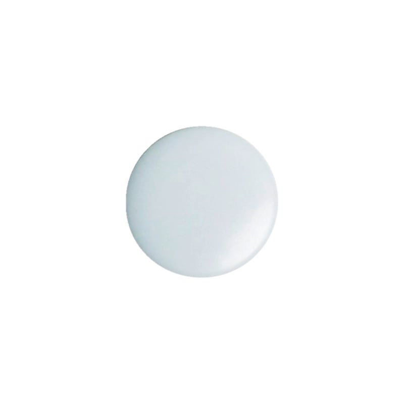 Cover cap for plinth height adjuster - AY-CAP-BSEHADJ-WHITE-D15