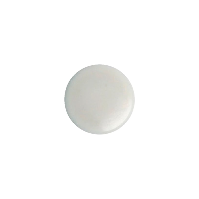 Cover cap for plinth height adjuster - AY-CAP-BSEHADJ-CREAMWHITE-D15