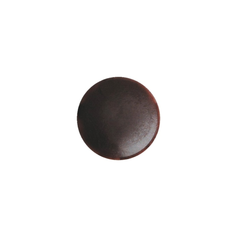 Cover cap for plinth height adjuster - AY-CAP-BSEHADJ-BROWN-D15